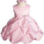 Elegant-Satin-Girl-Christening-Gown-pink