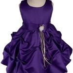 Elegant-Satin-Girl-Christening-Gown-purple
