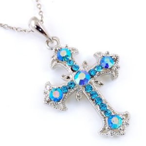 filigree-crystal-cross-necklace-for-girls-aqua-blue
